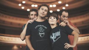 Mireia Vives, Borja Penalba, David Fernández i David Caño homenatgen la figura d'Ovidi Montllor