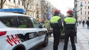 Policía Local de Vitoria.