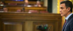President del govern espanyol, Pedro Sánchez, durant la seva compareixença al Congrés dels Diputats