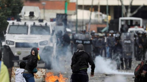 Protestes a Veneçuela