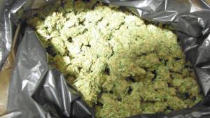 Quilo de marihuada requisada a Figueres pels Mossos d'Esquadra