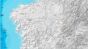 Registrados seis terremotos en Galicia