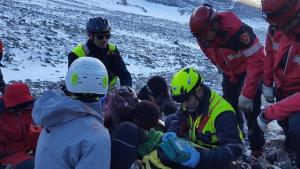 Rescatan un hombre herido en el parque natural del Moncayo, Zaragoza