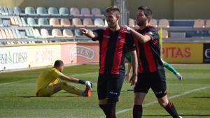Rubén Enri ha avançat el seu equip en el minut 5 del primer temps
