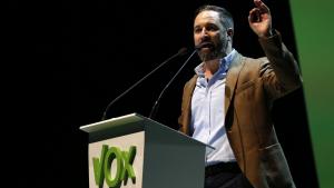 Santiago Abascal, president de Vox, ha anunciat la convocatòria de la manifestació