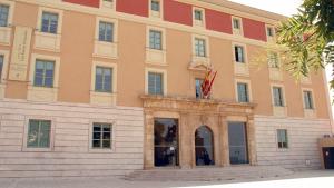 Seu de la Diputació de Tarragona, al Passeig de Sant Antoni