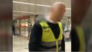 Suspenden un vigilante de seguridad de Renfe por racismo