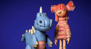 Titelles de l'espectacle 'Maure el dinosaure'