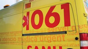 Un accidente entre tres coches y un motorista herido de gravedad en las Baleares.
