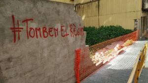 Un conductor begut xoca contra un mur de formigó del centre de Tarragona