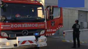 Bomberos y Policía Local de Murcia