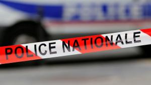 Un precinte de la policia francesa en una imatge d'arxiu