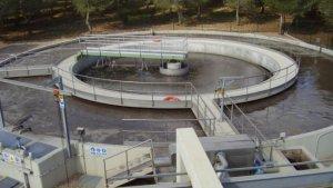 Una imatge de la depuradora d'aigües de la Pobla de Mafumet, les obres d'ampliació de la qual ja s'han adjudicat.