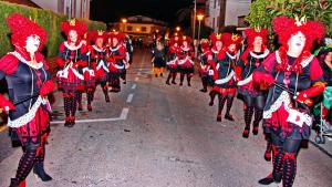 Una imatge de la rua del Carnaval d'Altafulla en un dels anys anteriors.