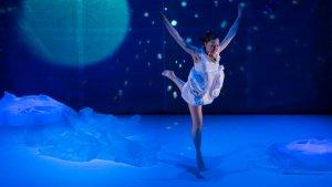 Una imatge de l'espectacle de dansa-teatre per a infants Blink Flash Duncan de la Cia. Blink Flash.