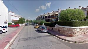Una imatge del carrer de Santa Marta, situat a la zona dels Munts, a Altafulla.