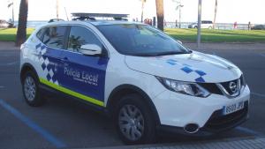 Vehicle de la Policia Local de Vila-seca