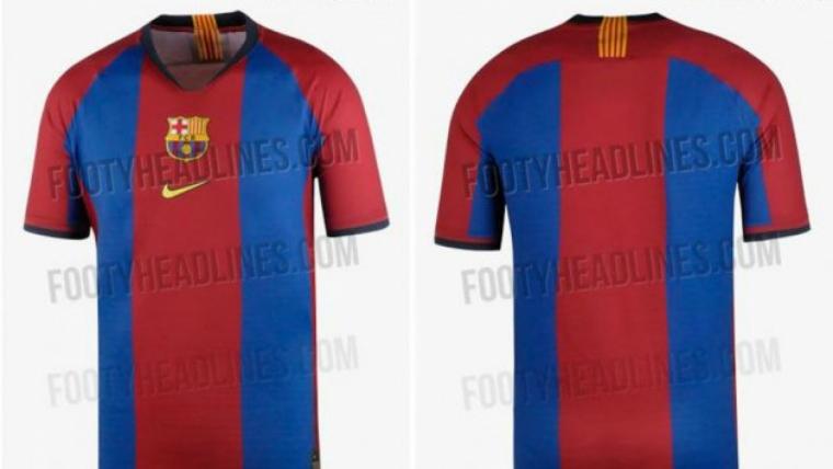 El Barça podria jugar el Clàssic de Lliga amb una samarreta commemorativa. 8ba241963ca