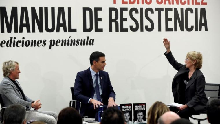 Els presentadors Jesús Calleja i Mercedes Milá van ser els encarregats d'amenitzar l'acte de presentació del llibre