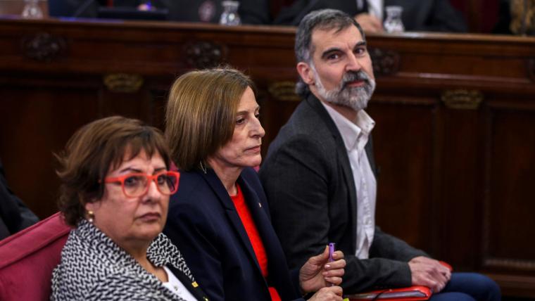 Jordi Cuixart i Carme Forcadell