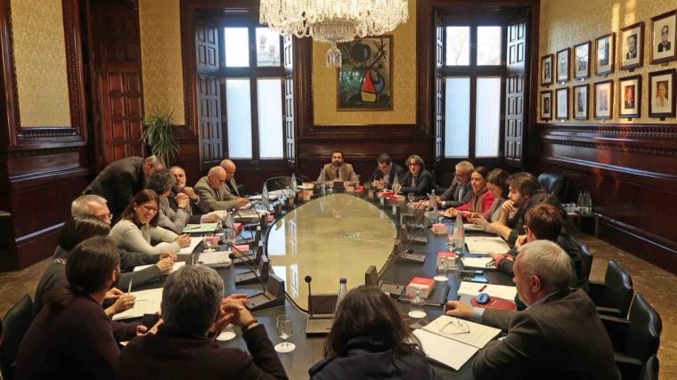 Junta de Portaveus Parlament de Catalunya
