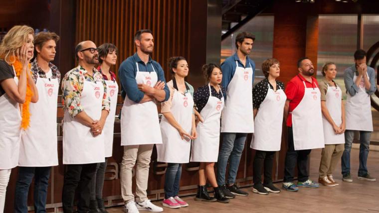 Los concursantes de la edición de 'MasterChef Celebrity' que ganó Saúl