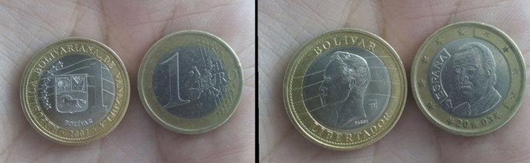 monedes semblants euros