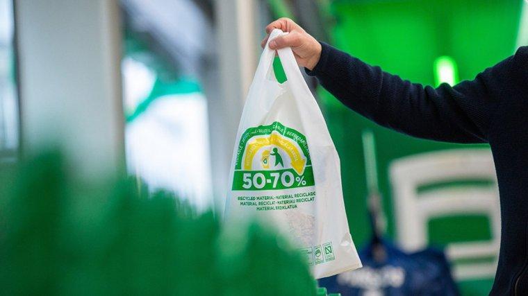 Nuevas bolsas reciclables de Mercadona