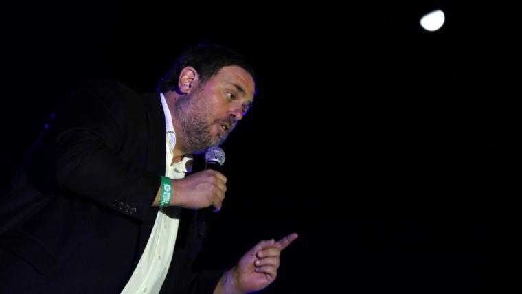 Oriol Junqueras ha assegurat aquest dissbate que «el projecte republicà no defallirà»