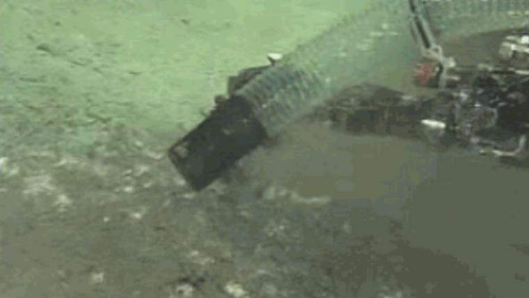 Un reservori submarí prop de Taiwan allibera gas cap a la superfície