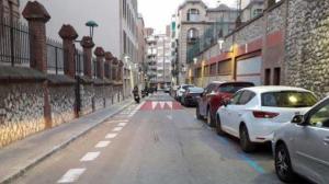 Així quedarà el reductor de velocitat al carrer August de Tarragona.