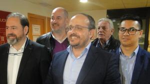 Alejandro Fernández, amb Jero Merino al Vendrell.