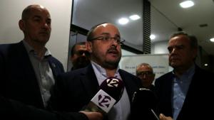 Alejandro Fernández en l'acte de presentació dels candidats a l'Alt Camp per les eleccions municipals