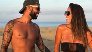 Anabel y su novio Omar Sánchez