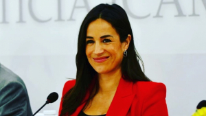 Begoña Villacís ya tiene nombre para su tercera hija
