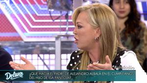 Belén Esteban atacó a Isa Pantoja por haber invitado al padre de Alejandro Albalá