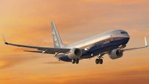 Boeing 737, como el que sufrió el percance