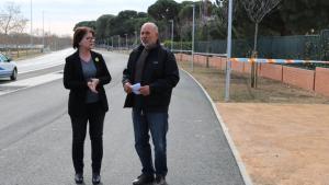 Camí Mendoza treu pit de les noves infraestructures que connecten Cambrils