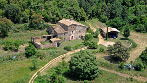 Can Sendra en Bescanó (Gerona)