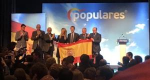 Cayetana Álvarez de Toledo, Pablo Casado, Alejandro Fernández, Josep Bou, PP