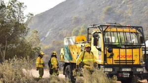 Confirmado la extinción del incendio que se inició el pasado miércoles