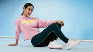 Cristina Pedroche como imagen de sus propias deportivas Puma