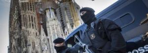 Dispositiu antiterrorista a la Sagrada Família de Barcelona