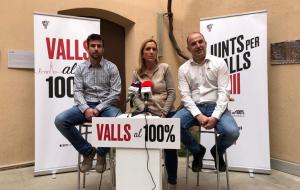 Dolors Farré serà la candidata de Junts per Valls a les pròximes eleccions municipals del 26 de maig