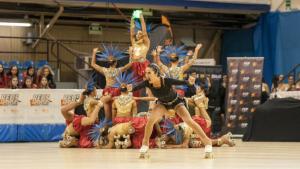 El grup xou júnior del Reus Deportiu, campió d'Espanya a Alcoi