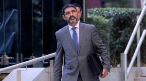 El major Josep Lluís Trapero es va convertir en pare el passat mes de novembre