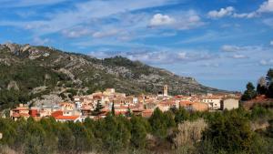 El municipi de Vandellòs i l'Hospitalet de l'Infant té una extensió de 102,7 quilòmetres quadrats.