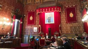 El ple ordinari del mes de març a l'Ajuntament de Tarragona s'ha celebrat aquest dilluns, 18 de març, al matí.