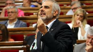 El portaveu de Ciutadans al Parlament de Catalunya, Carlos Carrizosa.