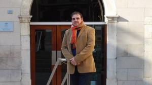 El portaveu dels socialistes de Vila-seca, Ander Basterretxea